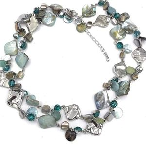 Lia Sophia Pure Abalone Necklace
